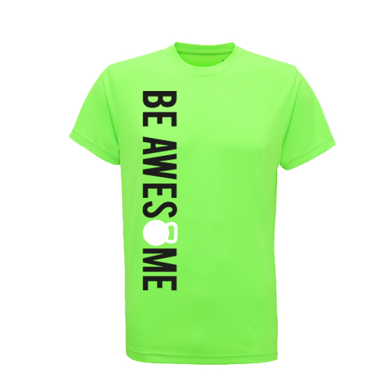 cool be awesome t-shirt